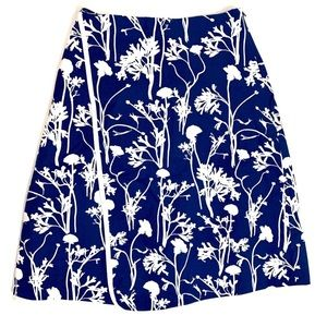 Kate Spade Saturday Floral Faux Wrap Skirt